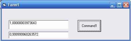 деление одинаковых чисел в IEEE754